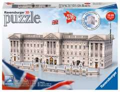 Buckingham Palace 3D Puzzle, 216pc - Billede 1 - Klik for at zoome