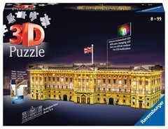 Buckingham Palace Night Edition 3D Puzzle, 216pc - Billede 1 - Klik for at zoome