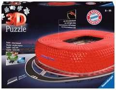 Allianz Arena bei Nacht - Bild 1 - Klicken zum Vergößern