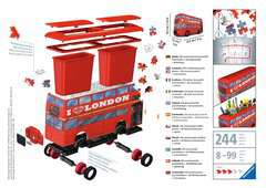 London Bus 3D Puzzle, 216pc - image 2 - Click to Zoom