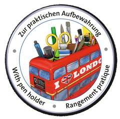 London Bus 3D Puzzle, 216pc - image 4 - Click to Zoom