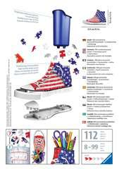 American Flag Sneaker 3D Puzzle®, 108pc - image 2 - Click to Zoom