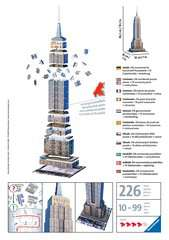 Empire State Building 3D Puzzle, 216p - Billede 2 - Klik for at zoome