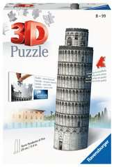 Leaning Tower of Pisa 3D Puzzle, 216pc - Billede 1 - Klik for at zoome