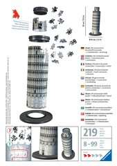 Leaning Tower of Pisa 3D Puzzle, 216pc - Billede 2 - Klik for at zoome