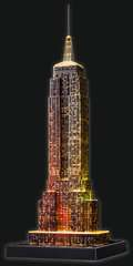 Empire State Building at Night, 3D Puzzle - Billede 14 - Klik for at zoome