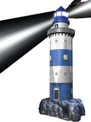Lighthouse at Night - image 3 - Click to Zoom