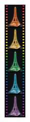 Eiffel Tower 3D Puzzle by Night - image 5 - Click to Zoom