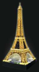Eiffel Tower 3D Puzzle by Night - Billede 7 - Klik for at zoome