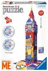 Big Ben Minions Puzzle 3D;Puzzle 3D building - Image 1 - Ravensburger