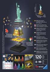 Statue of Liberty 3D Puzzle®, Night Edition - Billede 2 - Klik for at zoome