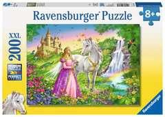 Prinzessin mit Pferd - Bild 1 - Klicken zum Vergößern