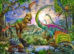 Puzzle 200 p XXL - Le royaume des dinosaures - Image 2 - Cliquer pour agrandir
