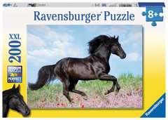 Puzzle 200 p XXL - Etalon noir - Image 1 - Cliquer pour agrandir