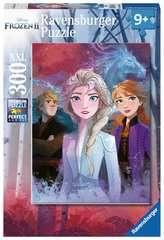 Puzzle 300 p XXL - Elsa, Anna et Kristoff / Disney La Reine des Neiges 2 - Image 1 - Cliquer pour agrandir
