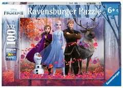 Puzzle 100 p XXL - La magie de la forêt  / Disney La Reine des Neiges 2 - Image 1 - Cliquer pour agrandir
