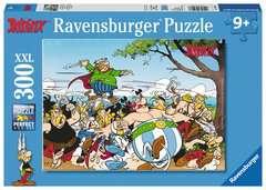 Puzzle 300 p XXL - Les Gaulois à l'attaque ! / Astérix - Image 1 - Cliquer pour agrandir