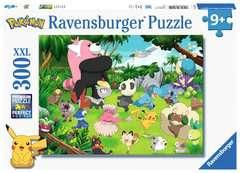 Puzzle 300 p XXL - Pokémon sauvages - Image 1 - Cliquer pour agrandir