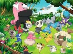 Puzzle 300 p XXL - Pokémon sauvages - Image 2 - Cliquer pour agrandir