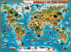 Animals of the World XXL 300pc - Billede 2 - Klik for at zoome