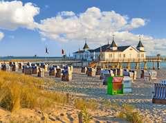 Strandkörbe in Ahlbeck - Bild 3 - Klicken zum Vergößern