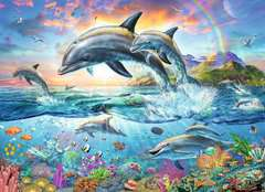 Vibrant Dolphins - image 2 - Click to Zoom