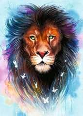 Majestueuze leeuw - image 2 - Click to Zoom
