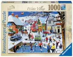 Leisure Days No.3 The Winter Village, 1000pc - image 1 - Click to Zoom