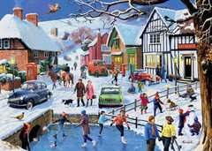Leisure Days No.3 The Winter Village, 1000pc - image 3 - Click to Zoom