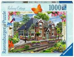 Country Cottage Collection - Railway Cottage, 1000pc - image 1 - Click to Zoom