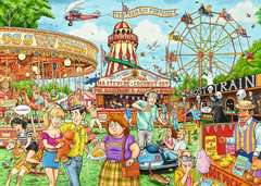 Best of British - The Fairground, 1000pc - image 2 - Click to Zoom