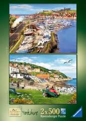 Picturesque Yorkshire 2x500pc (Whitby & Runswick Bay) - image 5 - Click to Zoom