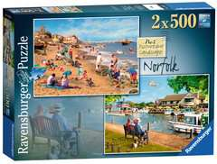 Picturesque Norfolk 2x500pc (Cromer & Horning) - image 1 - Click to Zoom