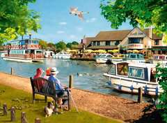 Picturesque Norfolk 2x500pc (Cromer & Horning) - image 2 - Click to Zoom