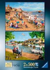 Picturesque Norfolk 2x500pc (Cromer & Horning) - image 4 - Click to Zoom