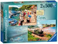 Picturesque Devon, 2x500pc - image 1 - Click to Zoom