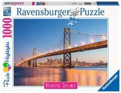 San Francisco 1000 dílků - obrázek 1 - Klikněte pro zvětšení