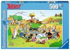 Puzzle 500 p - Astérix au village - Image 1 - Cliquer pour agrandir