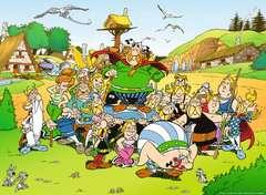 Puzzle 500 p - Astérix au village - Image 2 - Cliquer pour agrandir