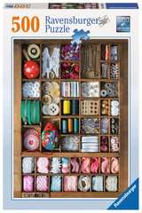 The Sewing Box Jigsaw Puzzles;Adult Puzzles - image 1 - Ravensburger