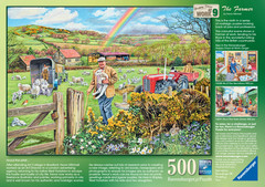 Happy Days at Work – The Farmer, 500pc - image 3 - Click to Zoom