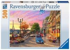 Puzzle 500 p - Promenade à Paris - Image 1 - Cliquer pour agrandir
