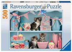 Kittens and Cupcakes, 500pc - Billede 1 - Klik for at zoome
