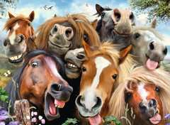 Selfies No.1, Horsing Around, 500pc - image 3 - Click to Zoom