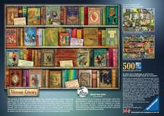 Vintage Library, 500pc - image 3 - Click to Zoom
