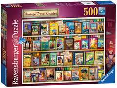 Vintage Travel, 500pc - image 1 - Click to Zoom