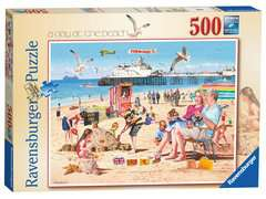 A Day at the Beach, 500pc - image 1 - Click to Zoom