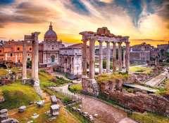Rome au crépuscule Puzzle;Puzzle adulte - Image 2 - Ravensburger