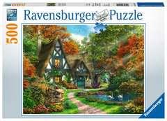 Cottage im Herbst - Bild 1 - Klicken zum Vergößern