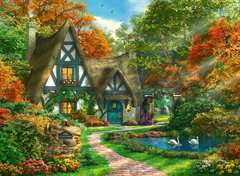 Cottage in de herfst - image 2 - Click to Zoom